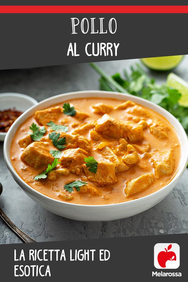 pollo al curry: una ricetta light e esotica