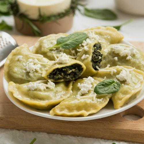 Ravioli ricotta e spinaci: ricetta