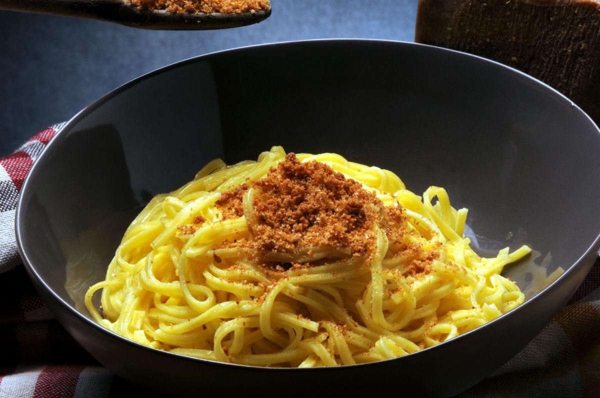 Spaghetti alla bottarga: preparazione