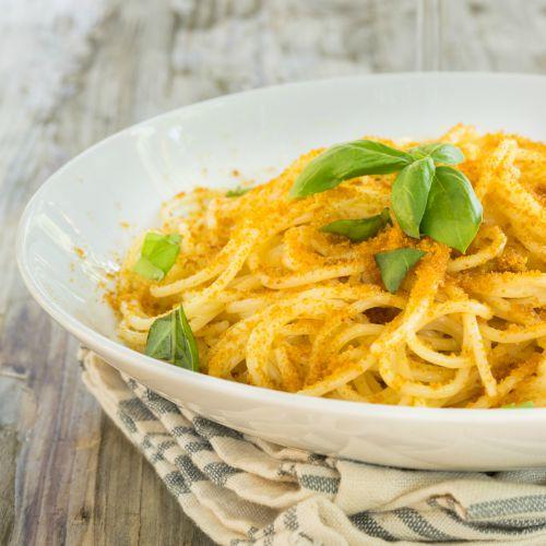 Spaghetti alla bottarga: ricetta