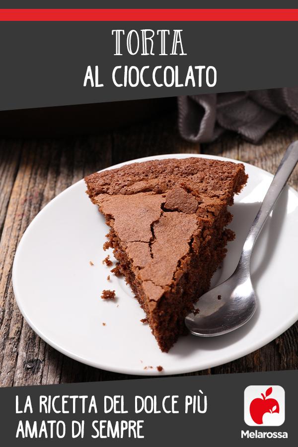Torta al cioccolato: pinterest