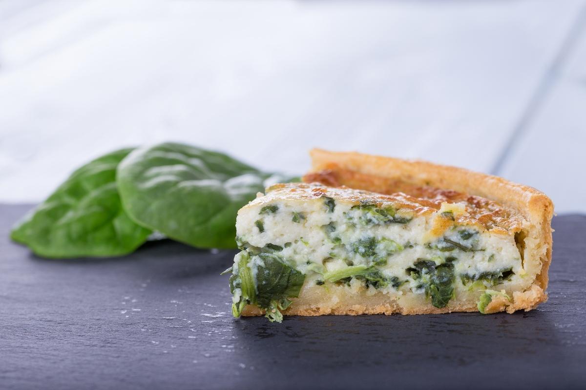 torta salata ricotta e verdure