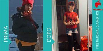 dieta Melarossa Federica 14 kg