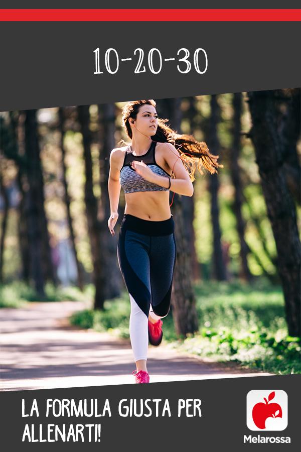 allenamento intervallato 10-20-30