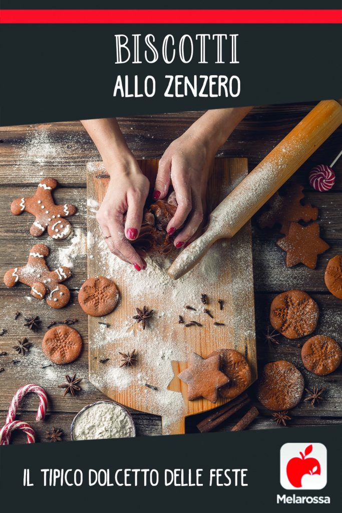 Biscotti allo zenzero: il tipico dolcetto delle feste