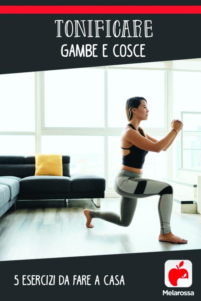 Tonificare gambe e cosce