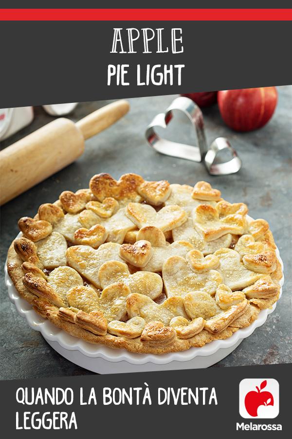 apple pie dolce leggero