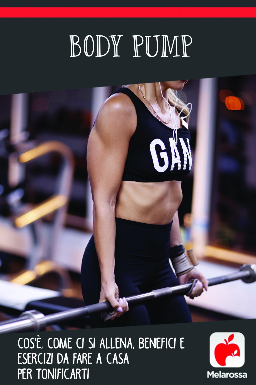 body pump: cos'è, allenamento, benefici e esercizi da fare a casa