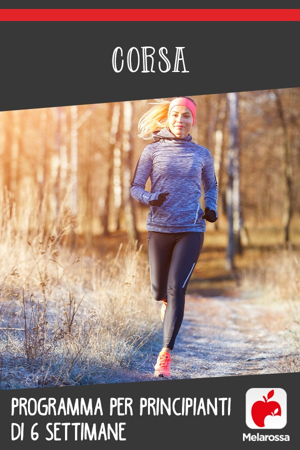 corsa per principianti: tabella di allenamento per 6 settimane