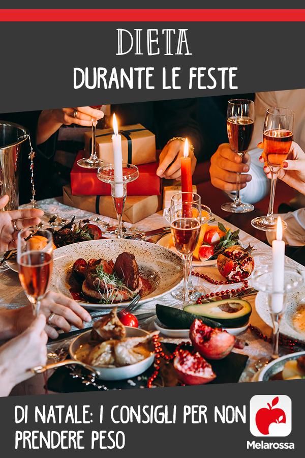 dieta durante le feste: come comportarsi