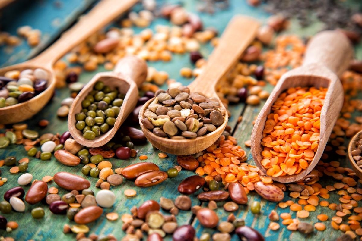 la top ten degli alimenti ricchi di ferro: legumi