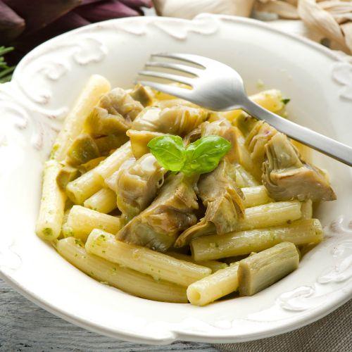 pasta con i carciofi: ricetta