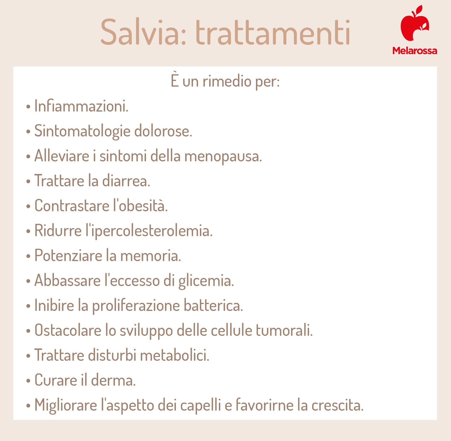 salvia: trattamenti efficaci