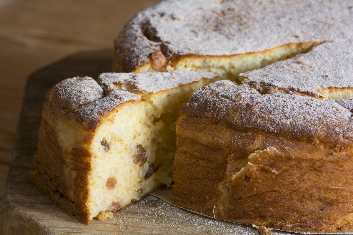 torta di riso bolognese originale