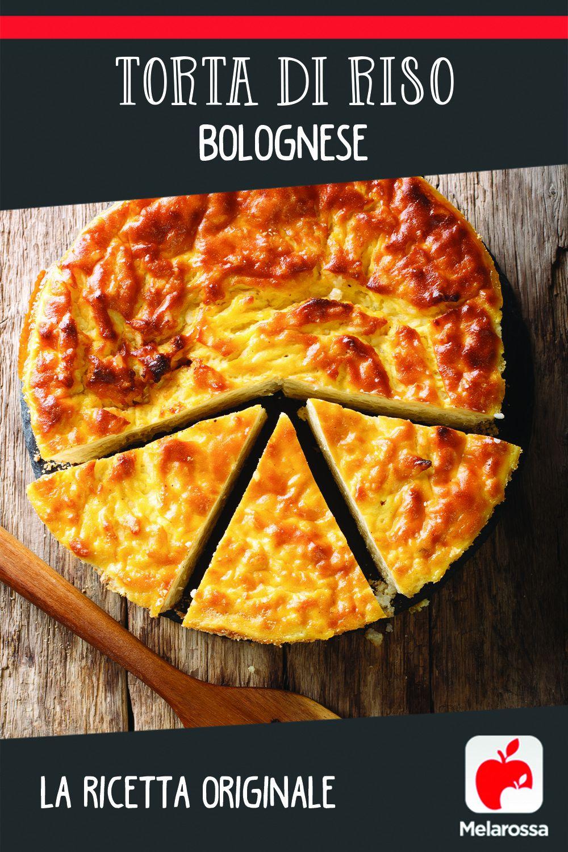 torta di riso bolognese Pinterest