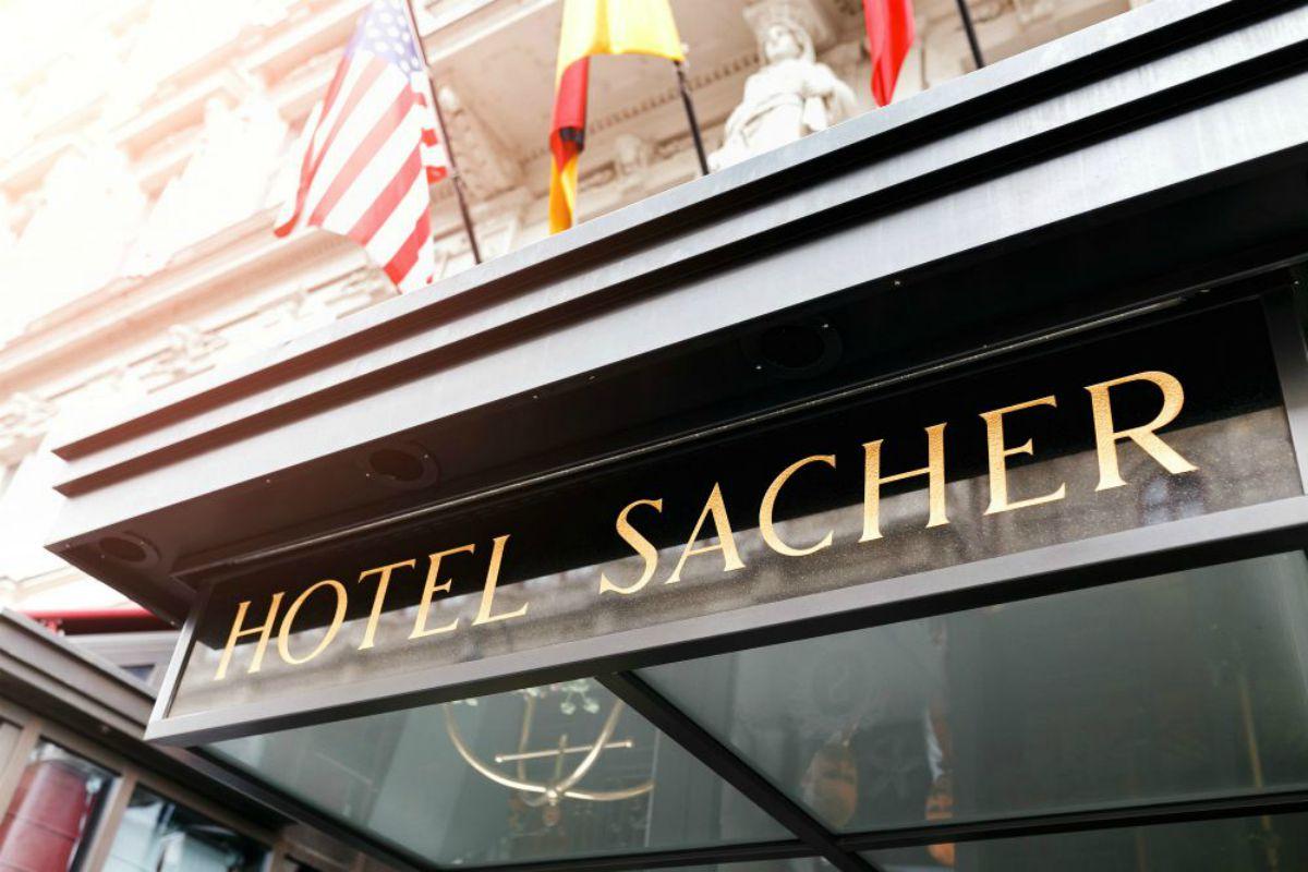 Torta sacher: hotel