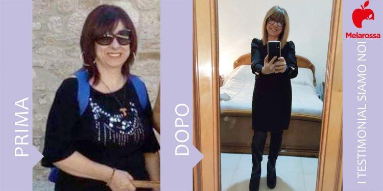dieta Melarossa Patrizia 16 kg