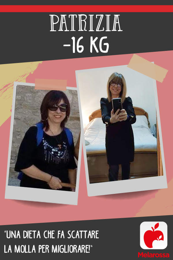 testimonial Melarossa Patrizia 16 kg
