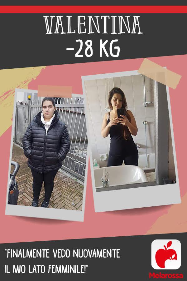 testimonial Melarossa Valentina 28 kg