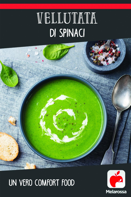 Vellutata di spinaci: la ricetta