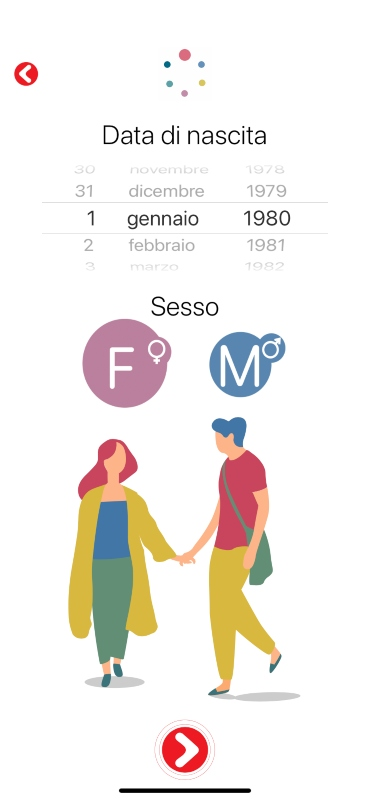 App Melarossa: come dimagrire con gusto - data di nascita