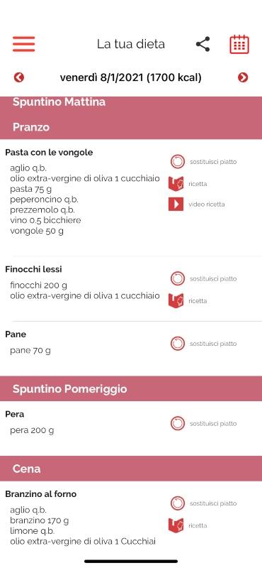 App Melarossa: dimagrisci con la tua dieta personalizzata.