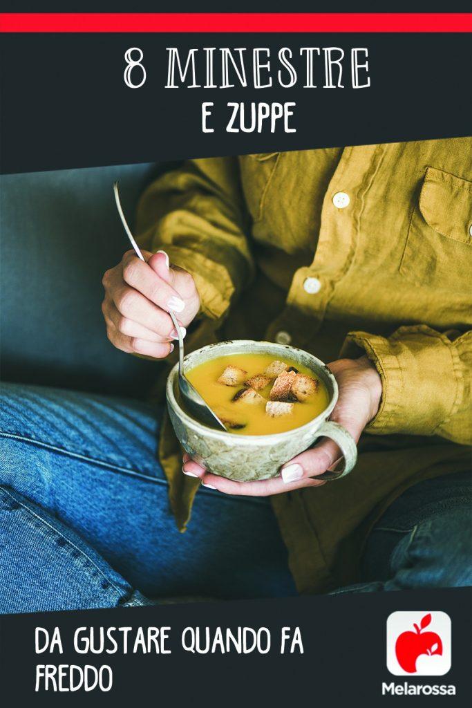 minestre e zuppe: 8 ricette