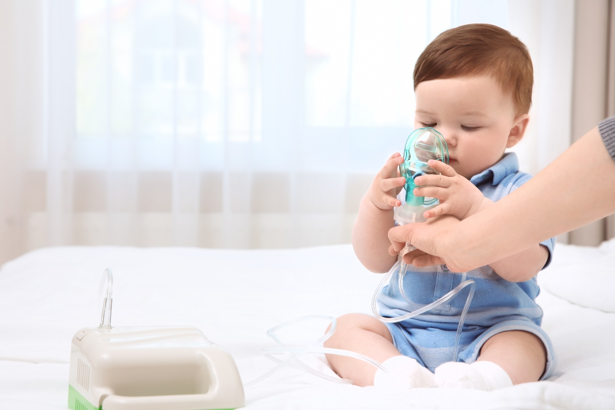 aerosol: come farlo bene ai bambini piccoli