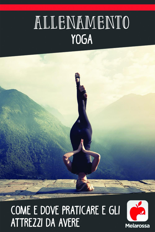 allenamento yoga: come e quando praticare