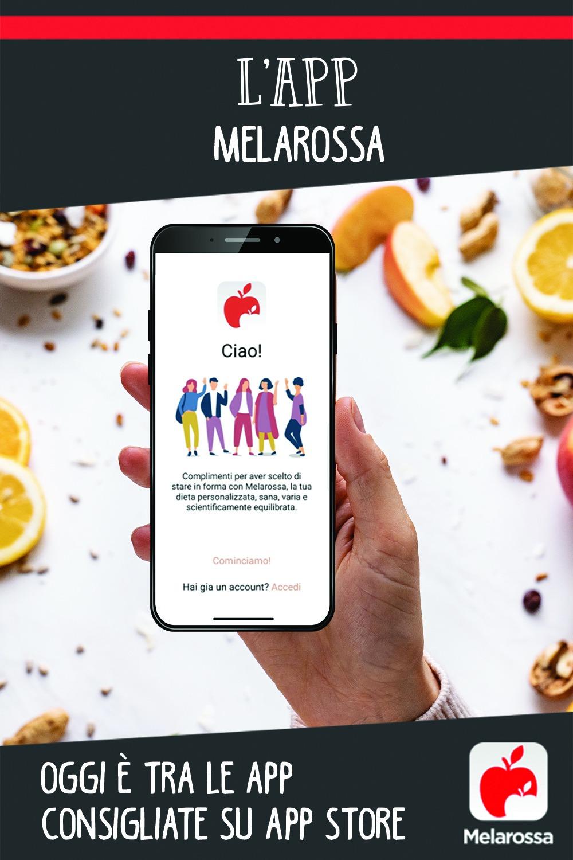 app Melarossa_ consigliata su App store