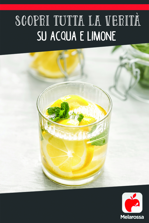 bere acqua e limone fa bene alla salute