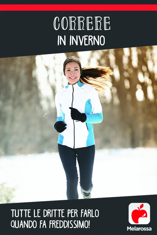 correre in inverno: come vestirsi