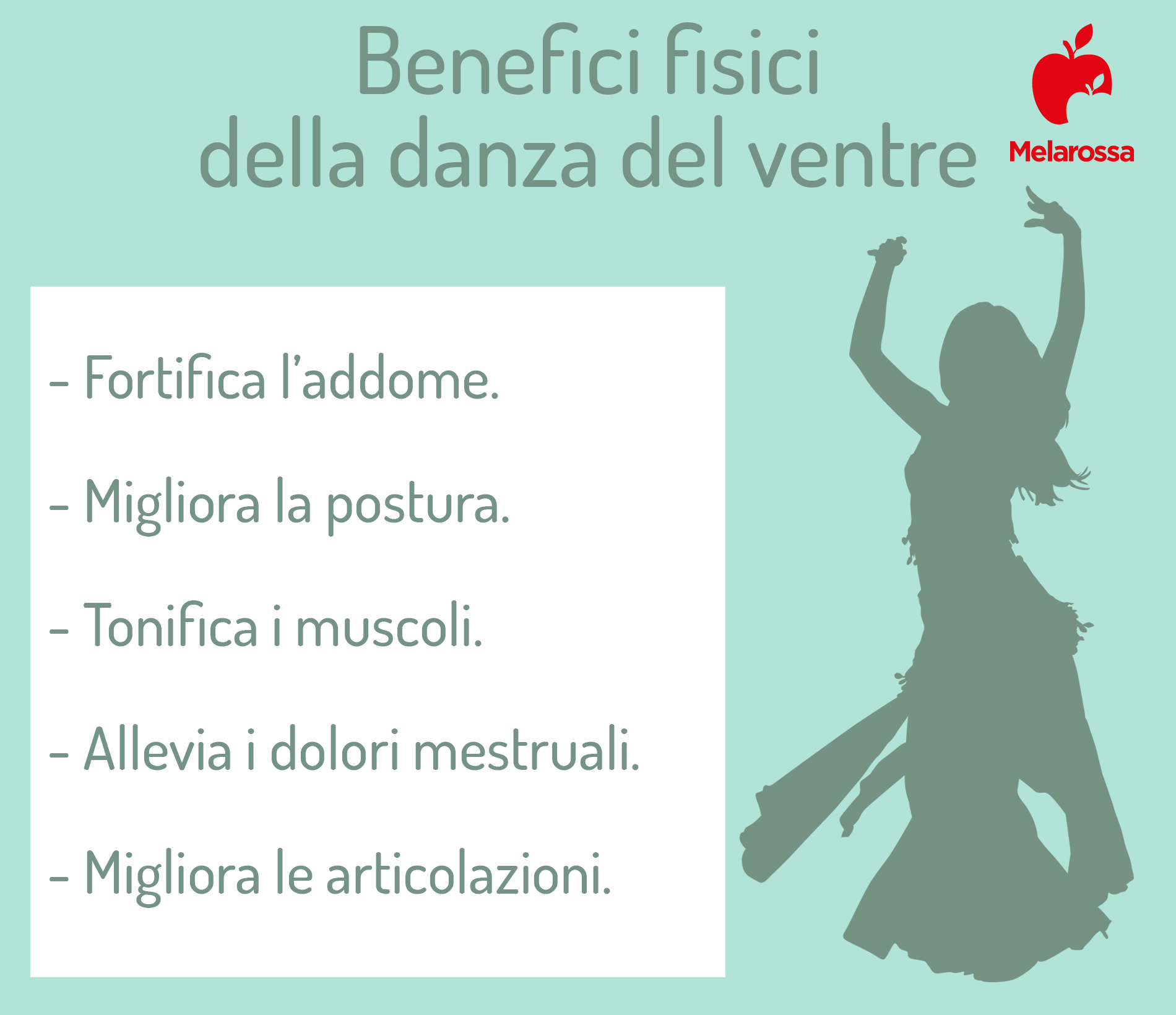 Benefici fisici della danza del ventre
