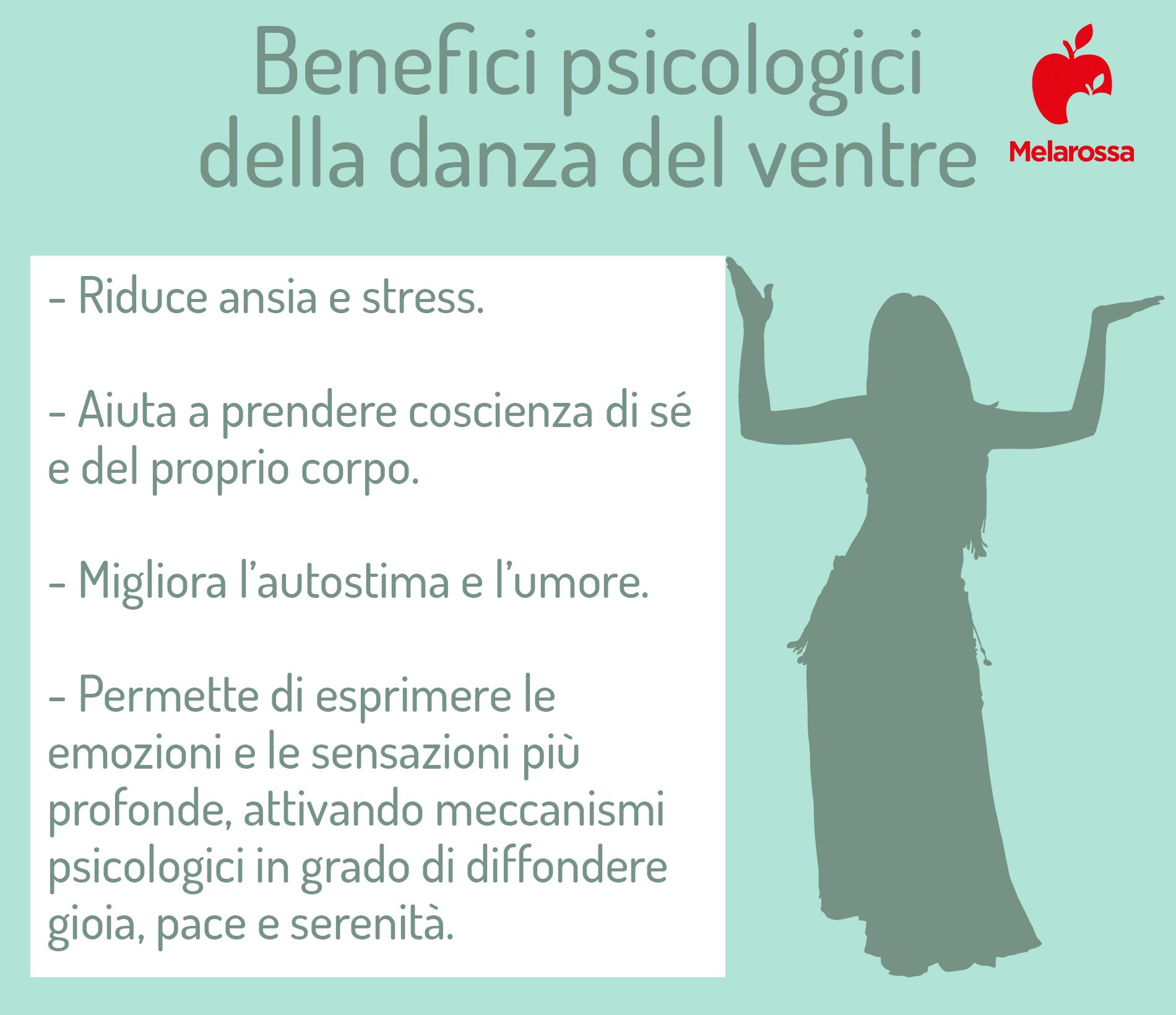 Benefici psicologici della danza del ventre