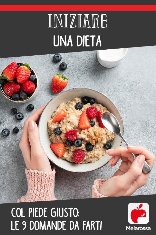 Iniziare una dieta: le domande da farti prima di iniziare