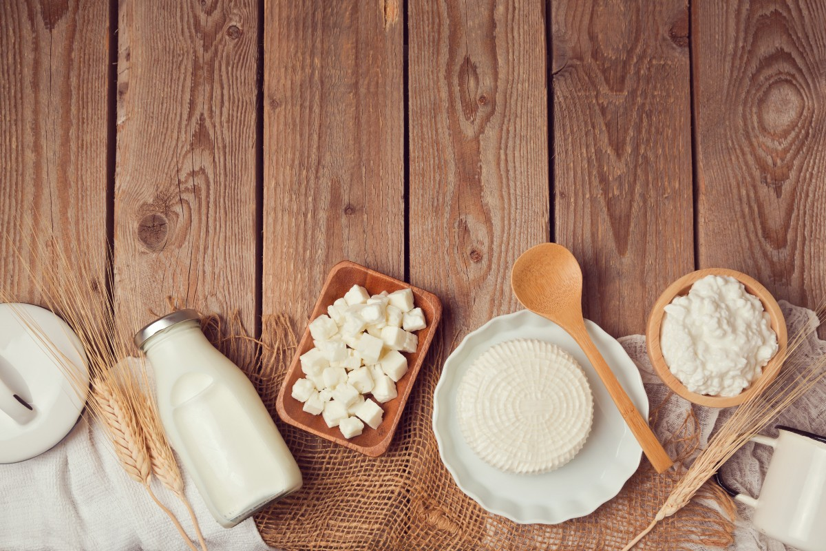 Dieta per l'acne latticini