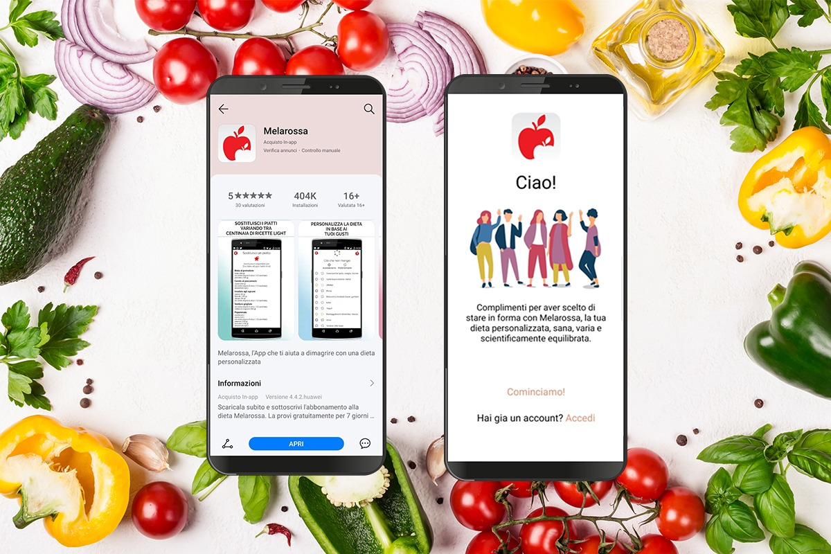 App Melarossa su Huawei AppGallery