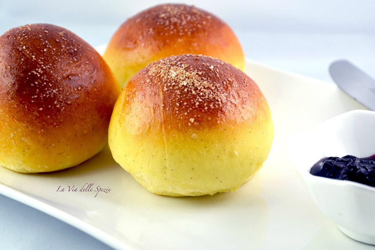 Pane fatto in casa: brioche senza burro