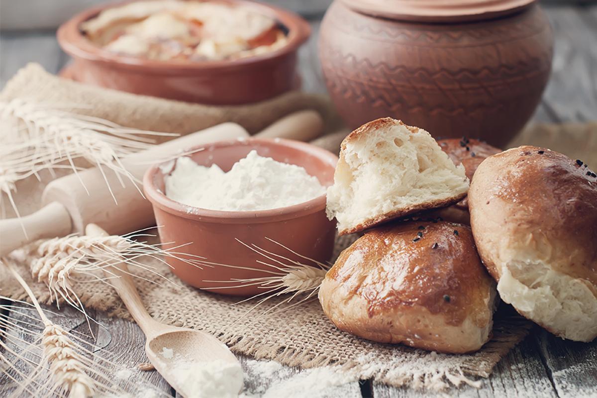 Pane fatto in casa: pane bianco