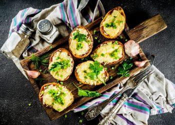 patate al cartoccio: ricette semplice per farle ripiene