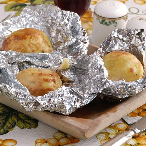 patate al cartoccio: ricetta