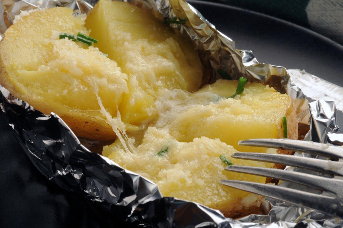 patate al cartoccio ripiene