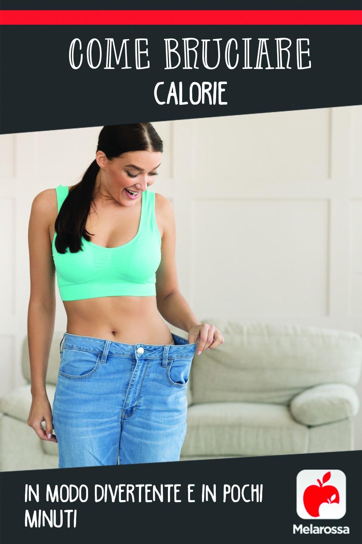 bruciare calorie in un modo divertente