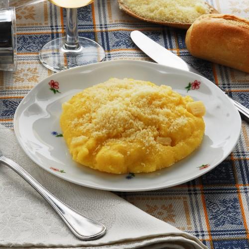 polenta concia: ricetta