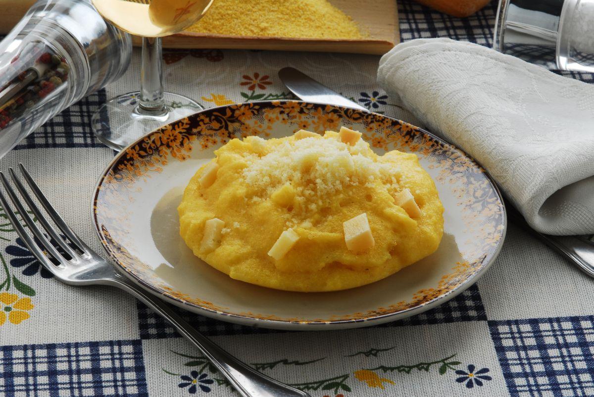 polenta concia valdostana