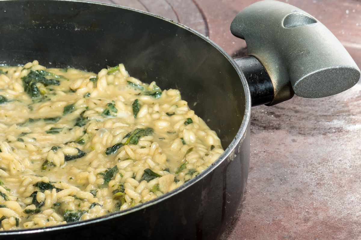 risotto alle ortiche: ricetta tradizionale