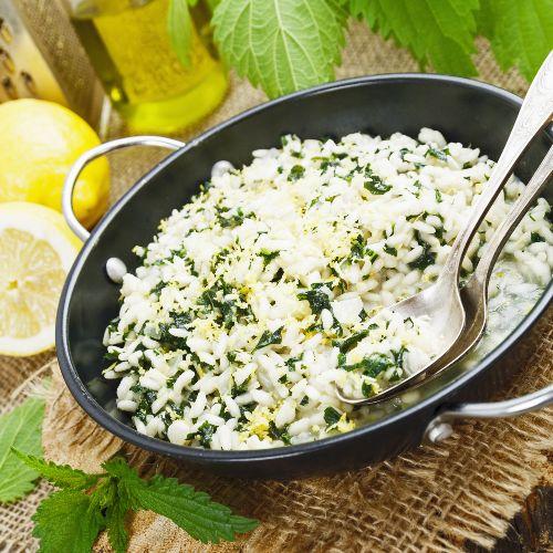 risotto alle ortiche: ricetta