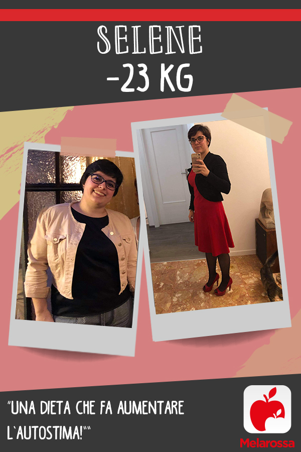 testimonial Melarossa Selene 23 kg