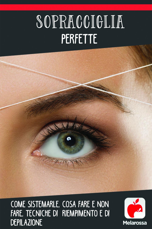 Sopracciglia depilazione