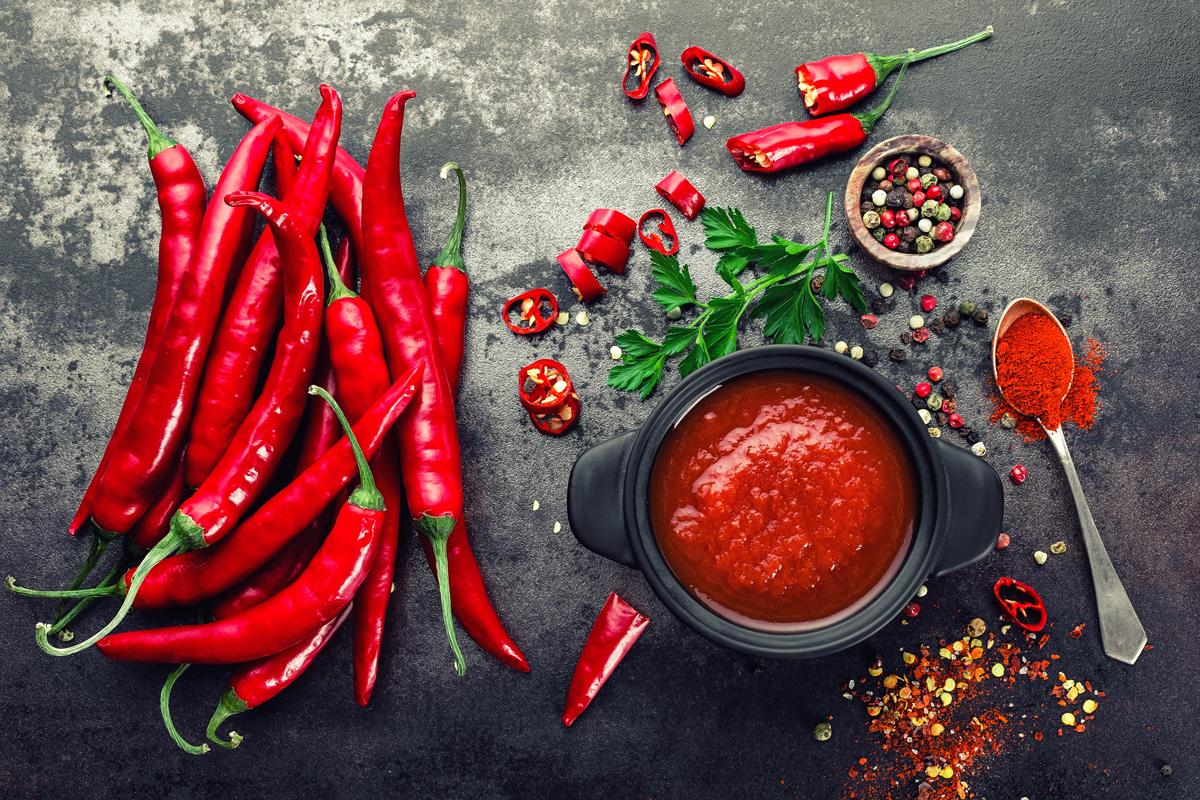 spezie brucia grassi: peperoncino